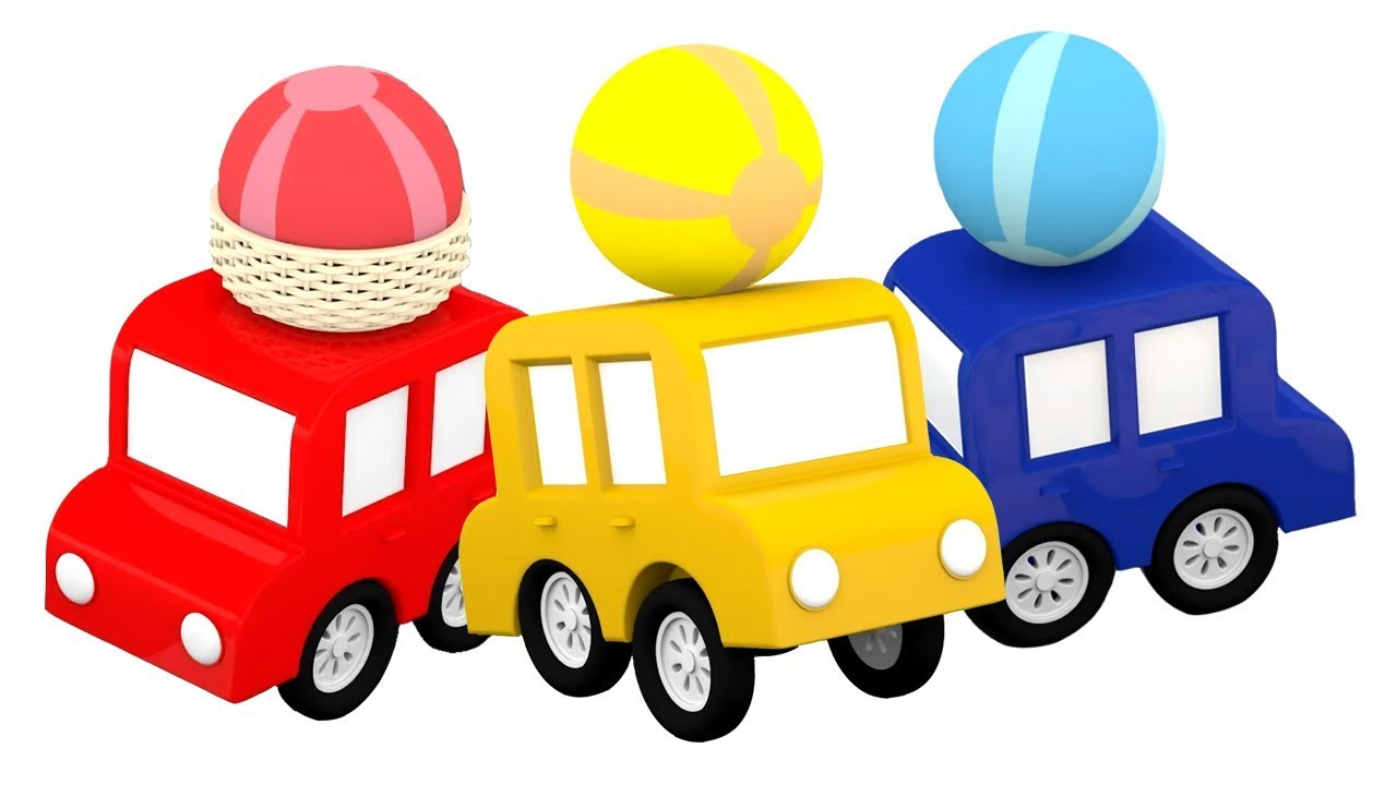 dessin anim de 4 voitures color es apprendre les couleurs youtube. Black Bedroom Furniture Sets. Home Design Ideas
