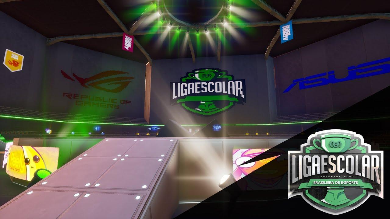 Liga Escolar Brasileira de E-Sports 2020 - Puzzle & 1v1   Fortnite