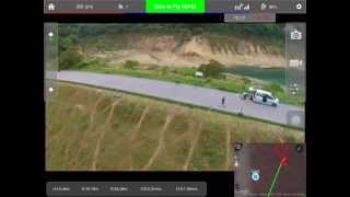 Vision Pilot Plus app Follow Me Demo for DJI Phantom Vision Plus +