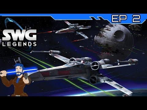 Star Wars Galaxies - Space Battles! - SWG Legends - Episode 2