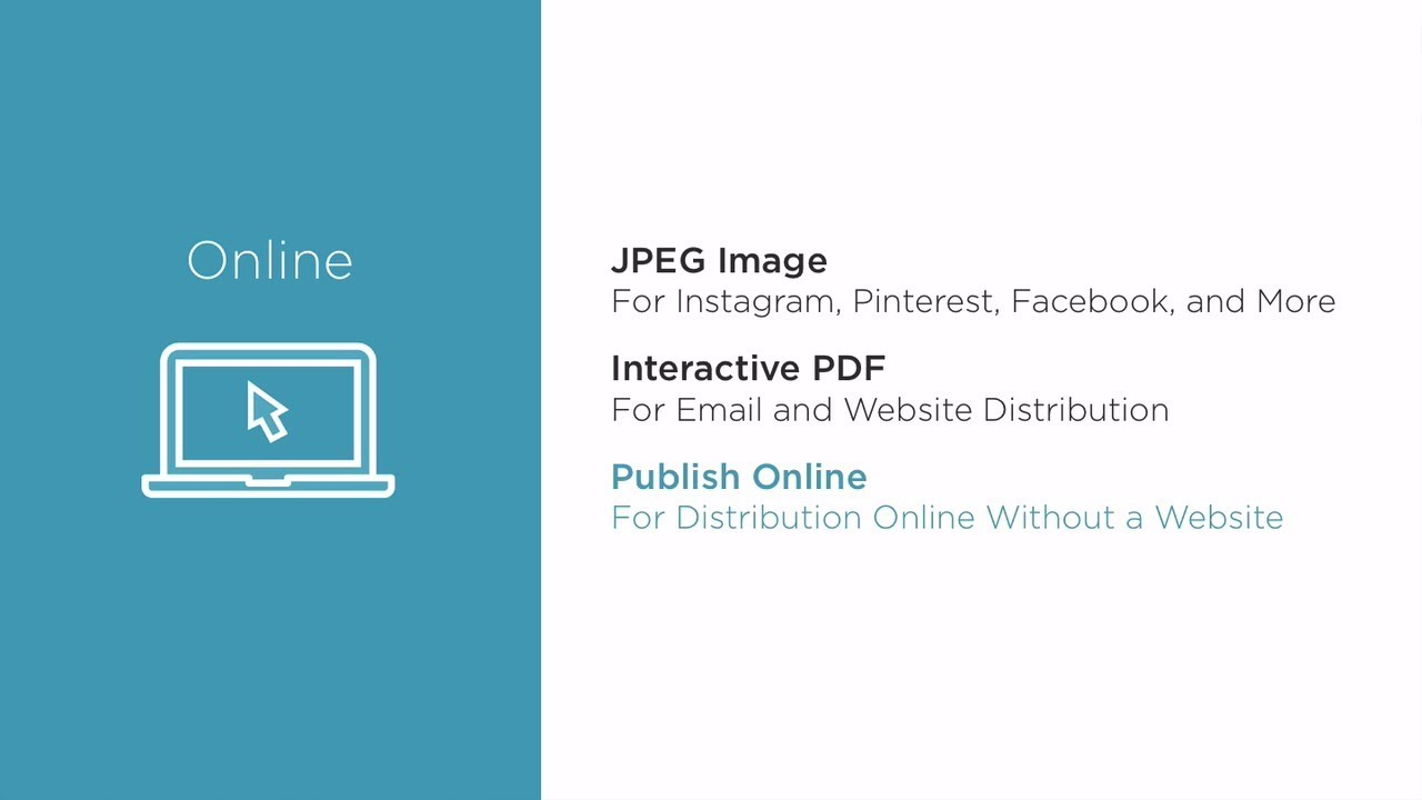 Exporting from InDesign CC to JPEG, Interactive PDF, and Publish Online