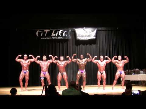 2013 NPC All South Bodybuilding Championship. Men's Bodybuilding Super Heavyweight Prejudging