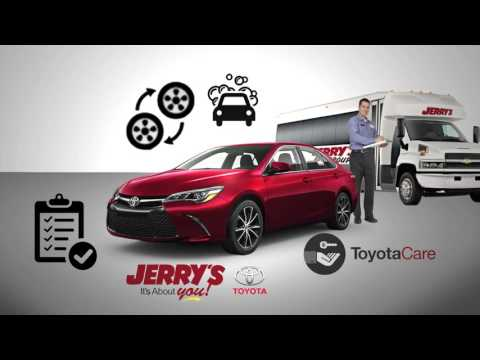 Jerry's Toyota It's About You Benefits