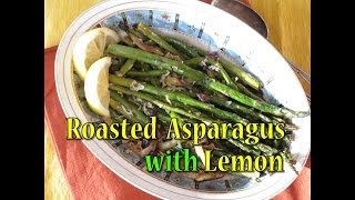 Roasted Asparagus With Olives And Lemon