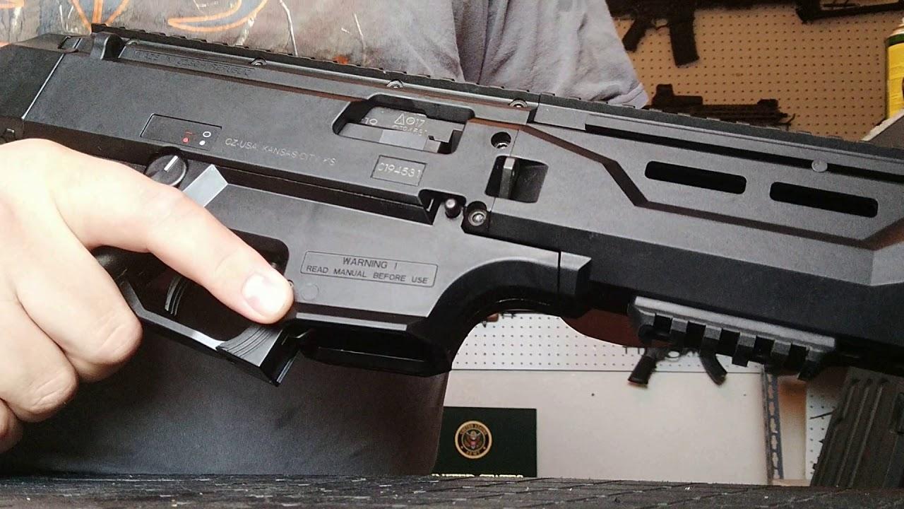 Asg cz scorpion evo 3 a1 2300rd durm magazine (manual type).