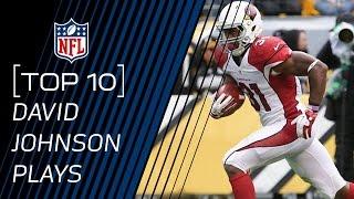 Top 10 David Johnson Plays of 2015 | #TopTenTuesdays | NFL