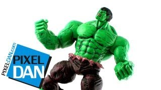 marvel Diamond Select Green Hulk Action Figure обзор фигурки
