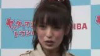 アッキーナの初アニメキャラクター発表会.