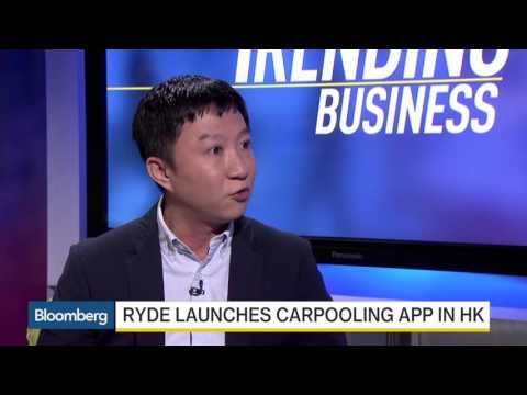 RYDE launches carpool app in Hong Kong! Featured on Bloomberg Business.