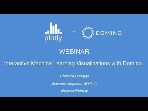 Interactive Machine Learning Visualizations with Domino