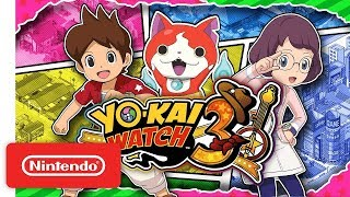 YO-KAI WATCH 3 - More Yo-kai, More Mysteries! - Nintendo 3DS