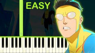 INVINCIBLE - EASY Piano Tutorial видео