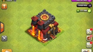 Clash Of Clans Gemming From TH1 To MAX TH10 1.1 Million Gems (Private Server) 2015