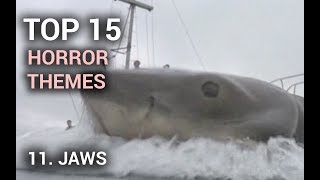 11. Jaws (Top 15 Horror Themes)