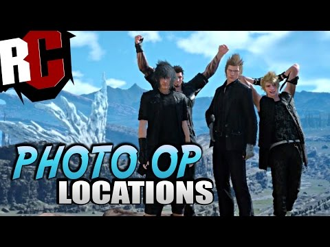 Final Fantasy XV - All Photo Op Locations (FFXV Photo Op / Fotoshooting Locations)