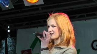 """Rica Heuer (14) singt """"Ich will keine Schokolade"""" von Trude Herr"""