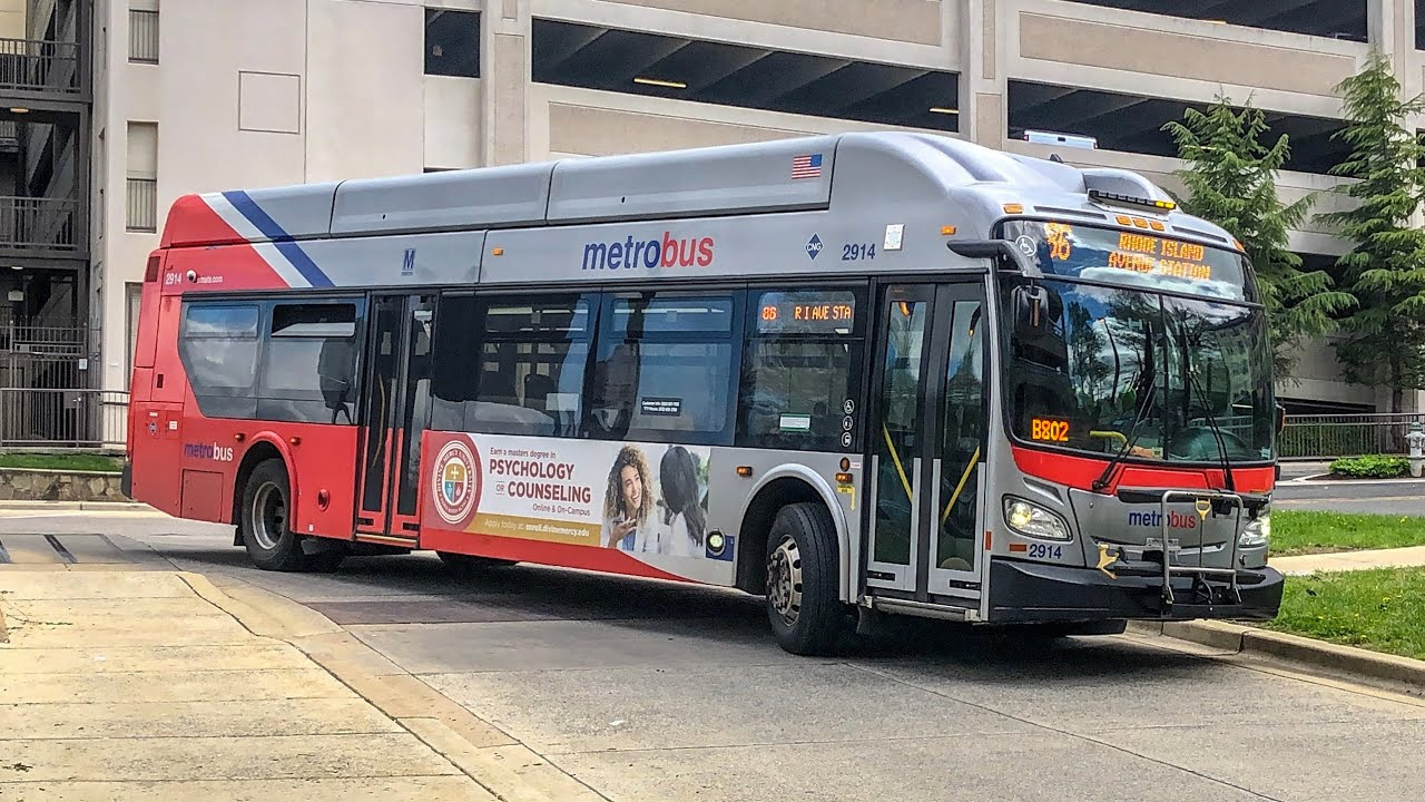 WMATA New Flyer XN40 2914 on Route 86