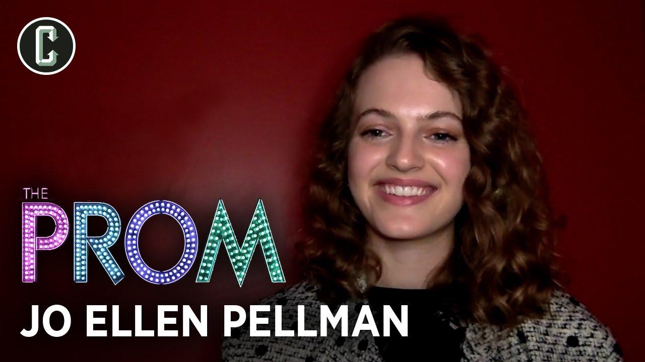 The Prom's Jo Ellen Pellman on Filming the Huge Finale and Ryan Murphy