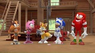 Соник Бум   2 сезон 4 серия   Опустевший город  Sonic Boom   мультик для детей