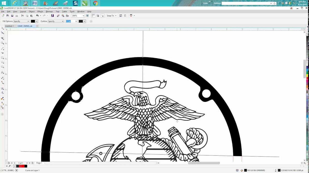 Corel draw clipart images - Corel Draw Tips Tricks How To Find Broken Lines In Your Drawing