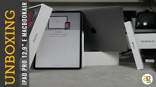 Unboxing IPAD PRO MACBOOK AIR 2018 e nuova APPLE PENCIL