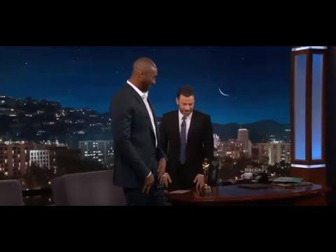Kobe Bryant Full INTERVIEW On Jimmy Kimmel Live With Oscar
