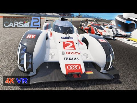 LMP1 Project Cars 2 100% Difficulty [PS VR PC 4K Onboard] Prototype Endurance Championship Stage 4