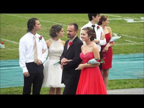 Emma Adams 10-01-2015 Homecoming At South Caldwell High School