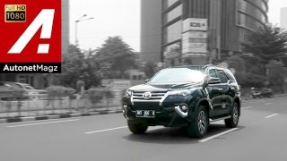 Test Drive Toyota All New Fortuner VRZ Indonesia by AutonetMagz