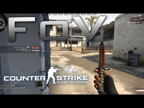 how to change your fov in csgo