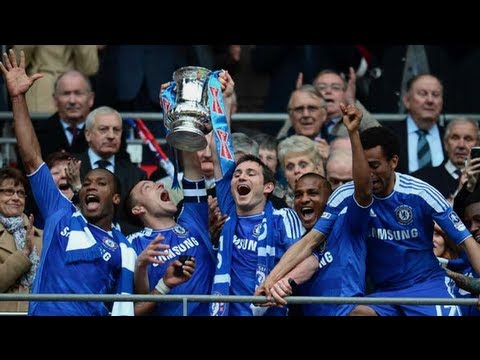 Download Chelsea Celebrations and Player Reactions | The FA Cup Final 2012
