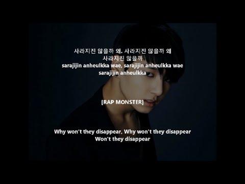 Sad Bts Quote Wallpaper Black Bts 방탄소년단 Let Me Know Lyrics Hangul Romanization