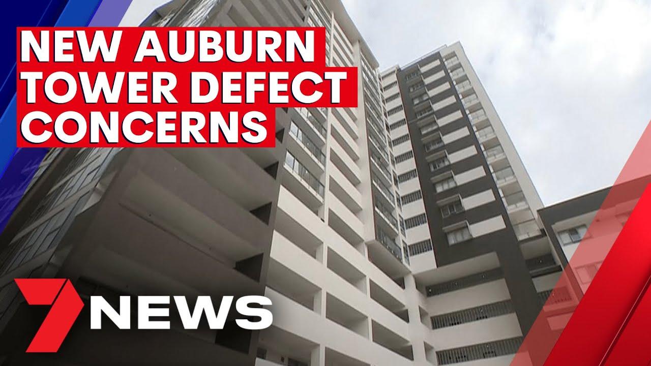 Auburn high-rise apartment tower raises major defect flaw concerns   7NEWS