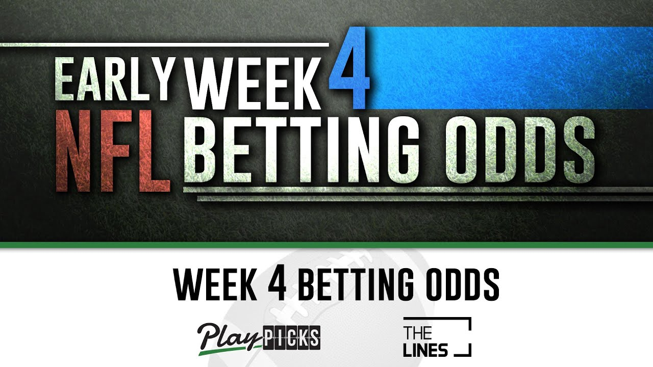 Live betting lines nfl week 4 multimarket trading and arbitrage betting