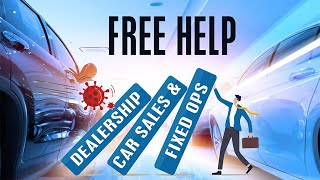 Free 1 on 1 Discovery Session: Need Help With Your Dealership's Plan To Rebound From the Crisis?