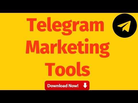telegram marketing software free download | Telegram Marketing Tool
