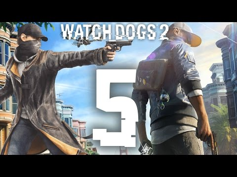Watch Dogs 2 - AIDEN PEARCE a šialená jazda ! / 1080p 50fps / CZ/SK Lets Play / # 5