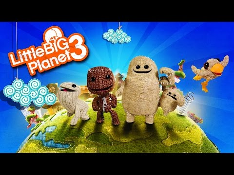 Little Big Planet 3: BEST MAPS /w The Stream Team  - LittleB