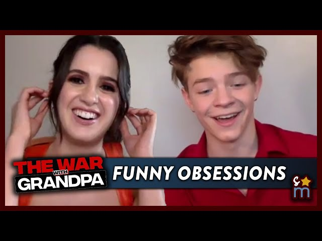Laura Marano & Oakes Fegley Reveal Funny Obsessions & Talk THE WAR WITH GRANDPA