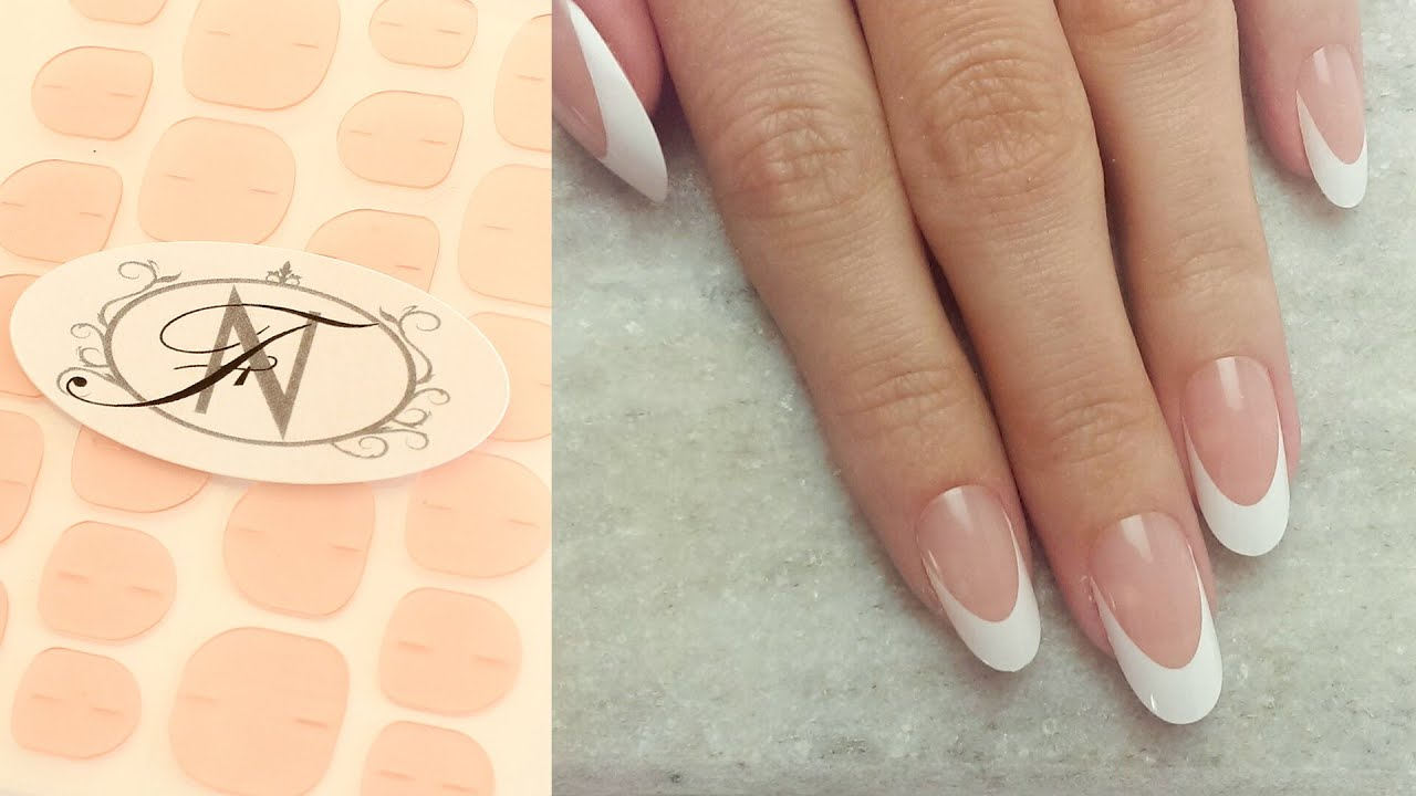Flawless Nails: How to use Adhesive Nail Tabs to apply Faux Nails ...