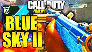 THIS HEROIC GUN IS A LASER! CALL OF DUTY WW2 HEROIC TYPE 100 BLUE SKY II BEST CLASS SETUP COD WW2!