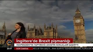 Independent Gazetesi'nin yaptığı ankete göre İngilizler Brexit'ten pişman