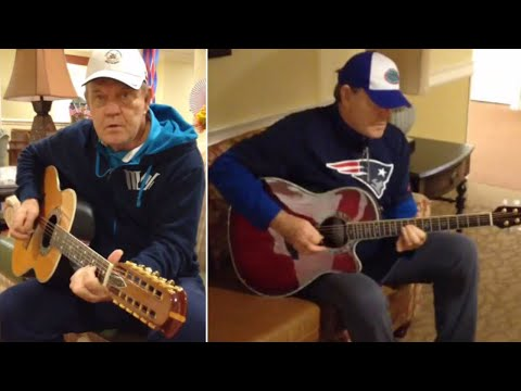 See Glen Campbell Play Guitar During His Final Days at Alzheimer's Facility