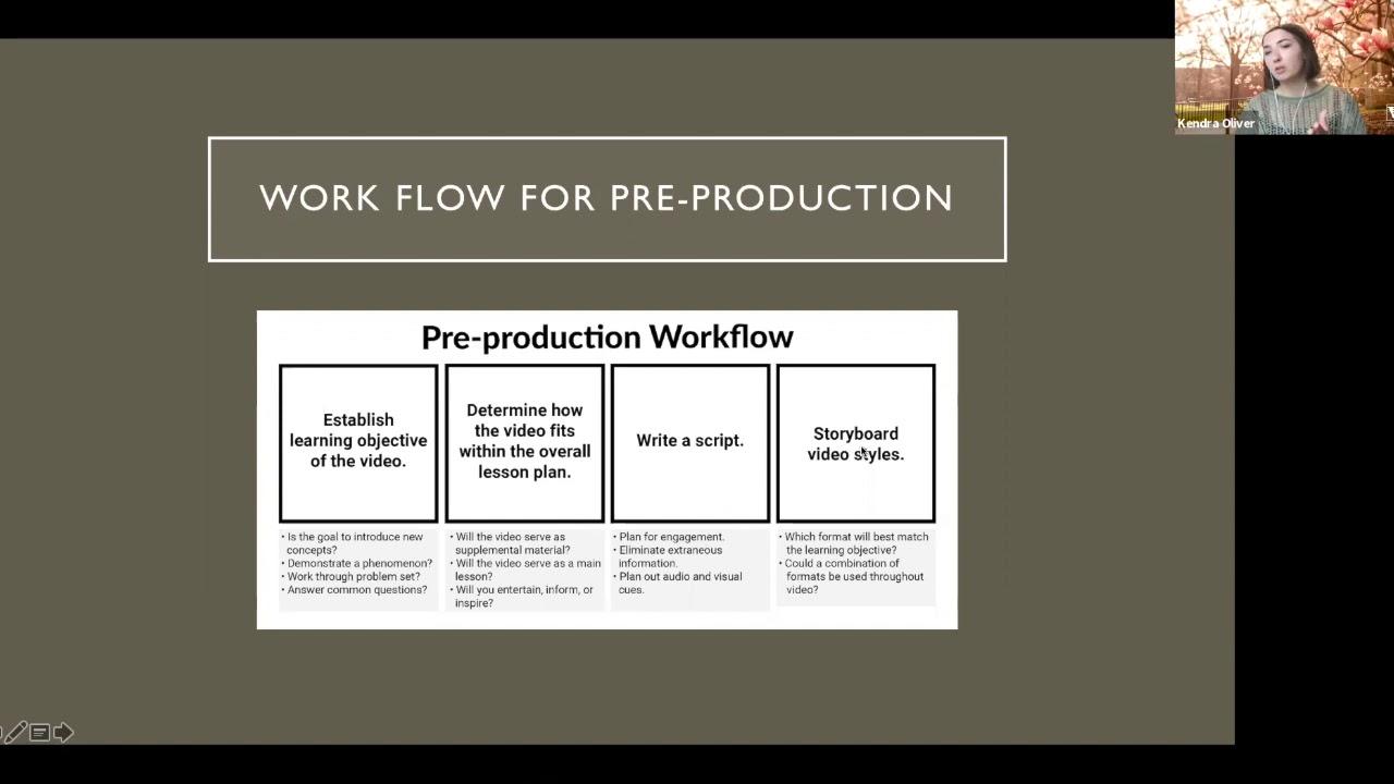 Pre-Production Video Tutorial