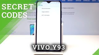 VIVO Y93 SECRET CODES | Hidden Features / Secret Options of VIVO