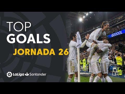 Todos Los Goles De La Jornada 26 De LaLiga Santander 2019/2020