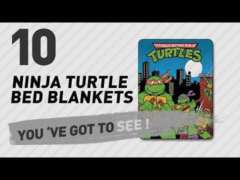 Ninja Turtle Bed Blankets // New & Popular 2017