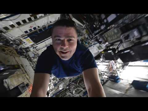 Astronaut Reid Wiseman gives a tour of the International Space Station