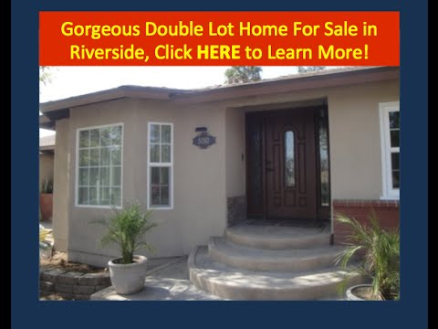 La Sierra Home for Sale in Riverside CA with RV Garage