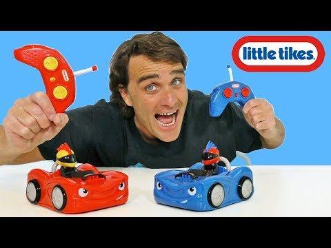 Little Tikes RC Bumper Cars ! || Toy Review || Konas2002